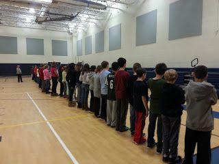 The Power Shuffle - bullying activity