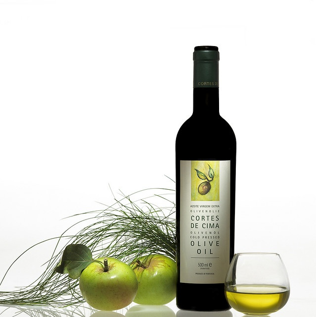Olive Oil and apples