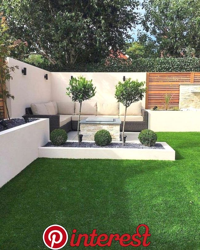 55 Small Garden And Landscaping Design For Small Backyard Ideas
