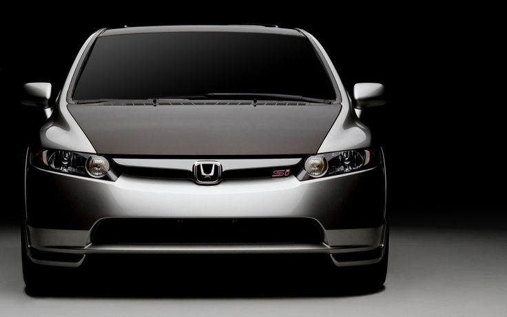 2007 Honda Civic Si with carbon fiber hood.  Nice.