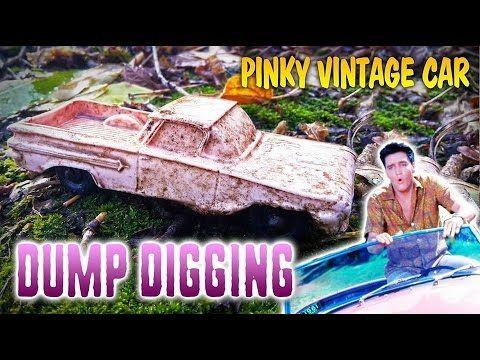 Elvis Presley´s car found! :-) On the trash dump! :D - YouTube