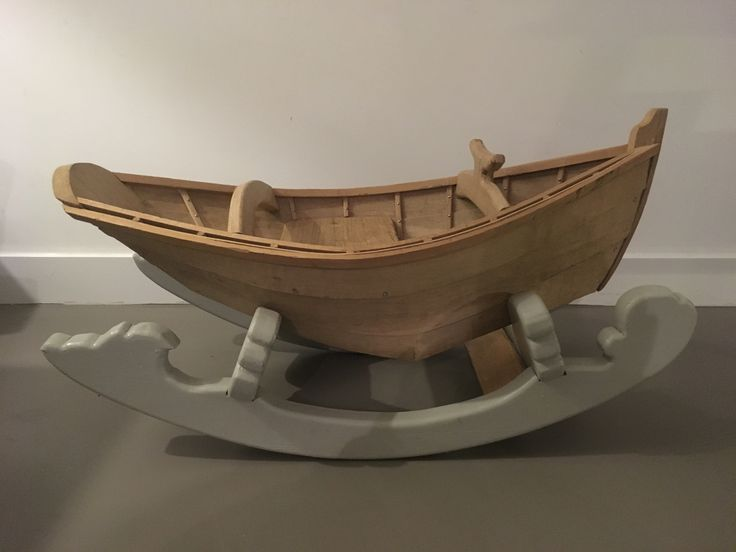 Rock my boat Handmade rocking boat made out of oak, spruce and red cedar