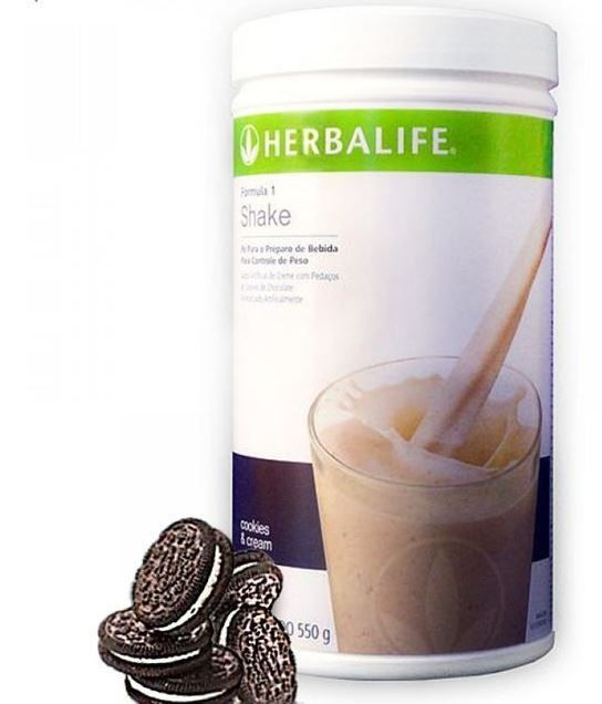 Herbalife Meal Replacement Cookies and Cream - Formula 1