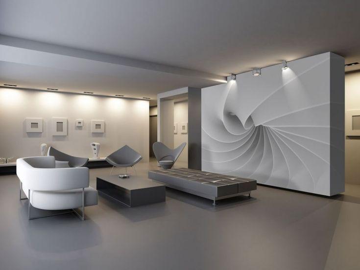 Abstrakcja, fala 3d - fototapeta - 366x254 cm  Gdzie kupić? www.eplakaty.pl