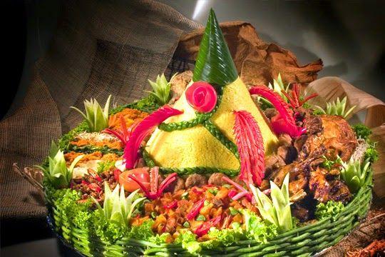 Catering tumpeng (021) 92147352: Nasi tumpeng vegetarian