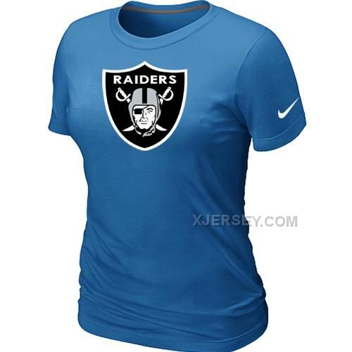 http://www.xjersey.com/okaland-raiders-lblue-womens-logo-tshirt.html OKALAND RAIDERS L.BLUE WOMEN'S LOGO T-SHIRT Only $26.00 , Free Shipping!
