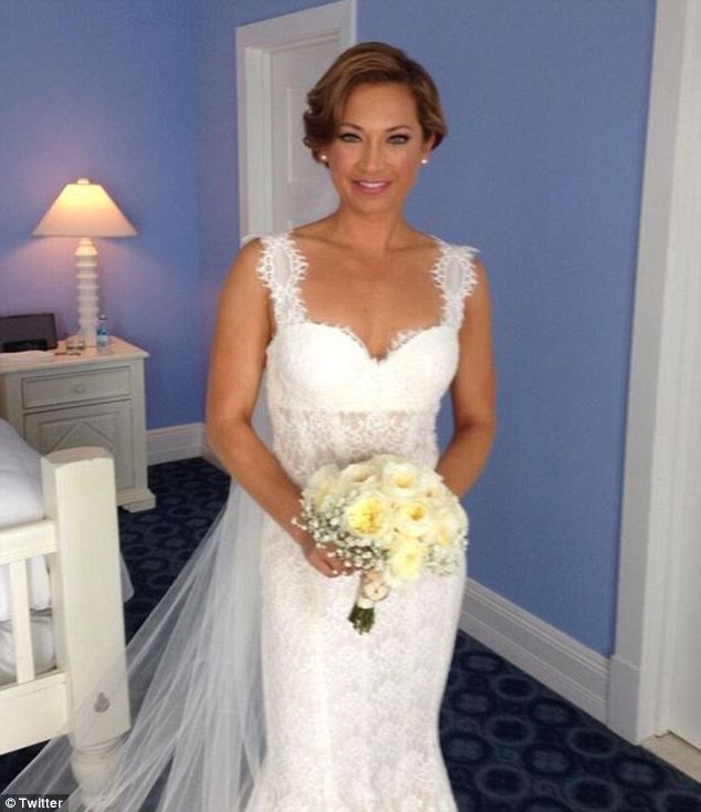 Good Morning America Girl With Acne : Gma meteorologist marries nbc anchor on a perfect day