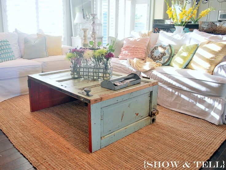 8 Creative Swaps For The Traditional Coffee Table