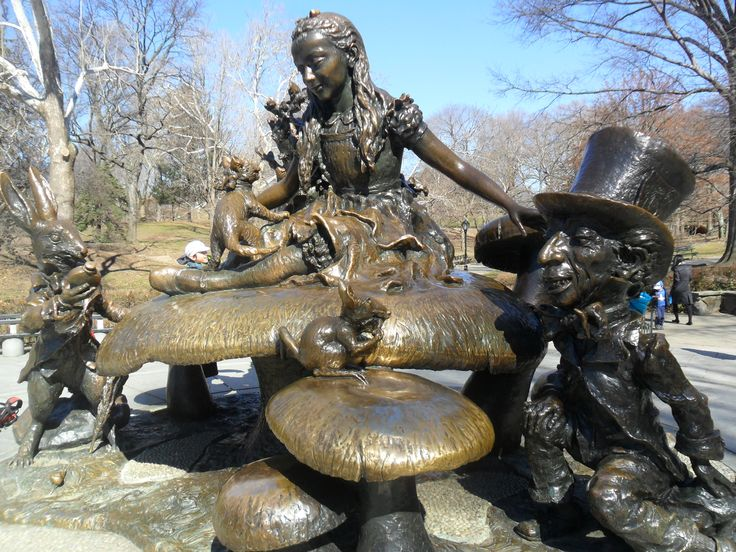 Alice In Wonderland, Central Park, New York