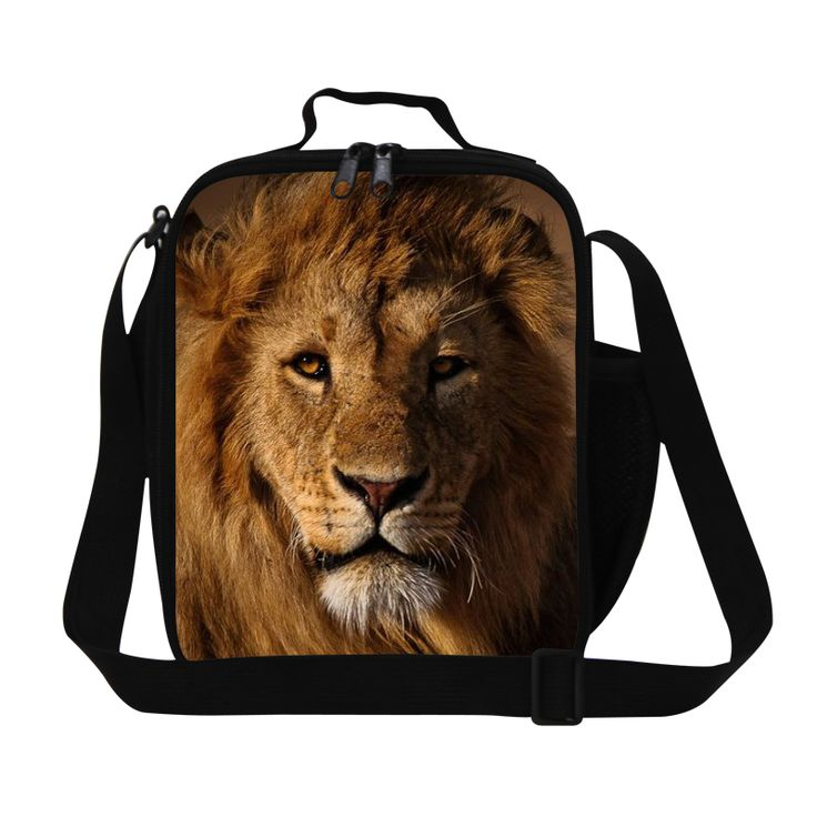personalized lion king lunch bag for men work,thermal lunch container for boys school,cool picnic bag for adults,insulated bags