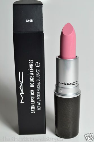 "Could not live without this Lipstick!! mac satin lipstick. ""snob."""