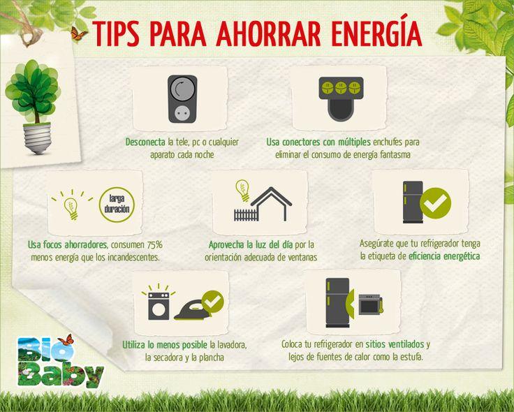 Te compartimos los siguientes tips para ahorrar energ a - Maneras de ahorrar energia ...