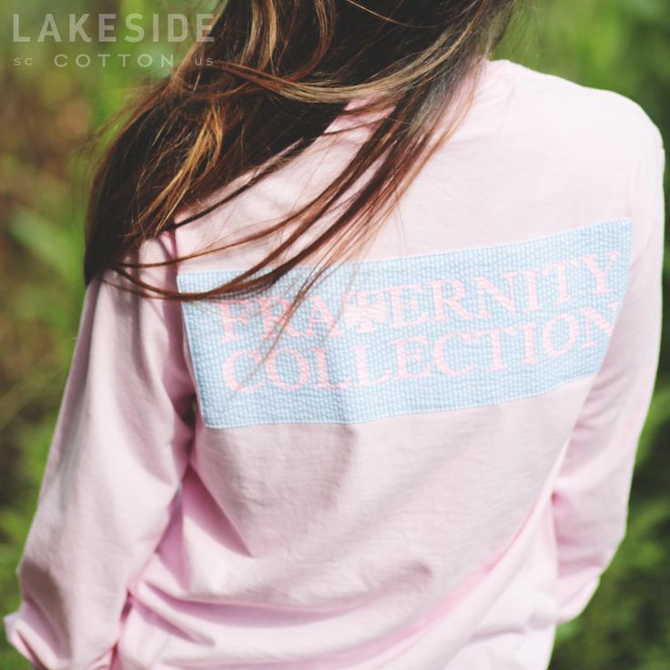 Fraternity Collection Long Sleeve T-Shirt  Coming soon to LakesideCotton.com!