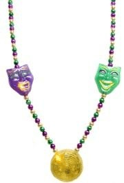 Mardi Gras bead collection site