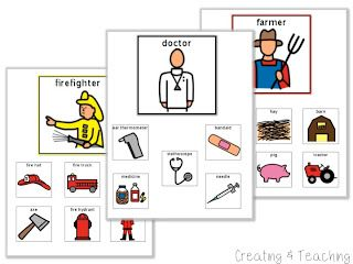 At the end of the lesson students will be able to sort the supplies by what job they are for