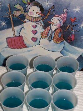 Baja Blue Jello Shots  1-28-2015