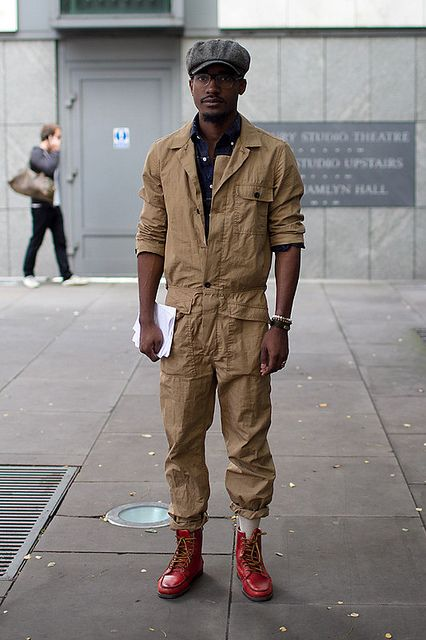 Pilot...spaceship mechanic... #Possibilities! Coggles.com - Men's Street Style London