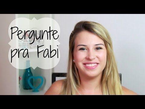 Pergunte pra Fabi: Como lidar com blog, facu e namorado? Câmera?