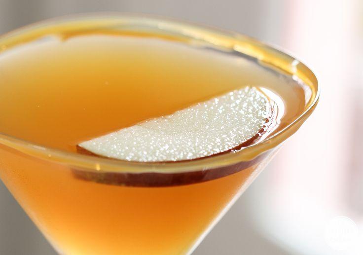Caramelo Martini de manzana |  Inspirado por el encanto