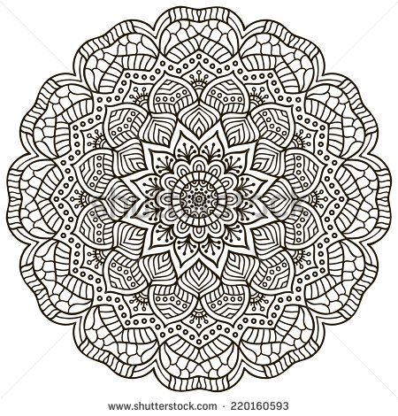 60 best Mandalas images on Pinterest Coloring books, Coloring - copy indian symbols coloring pages