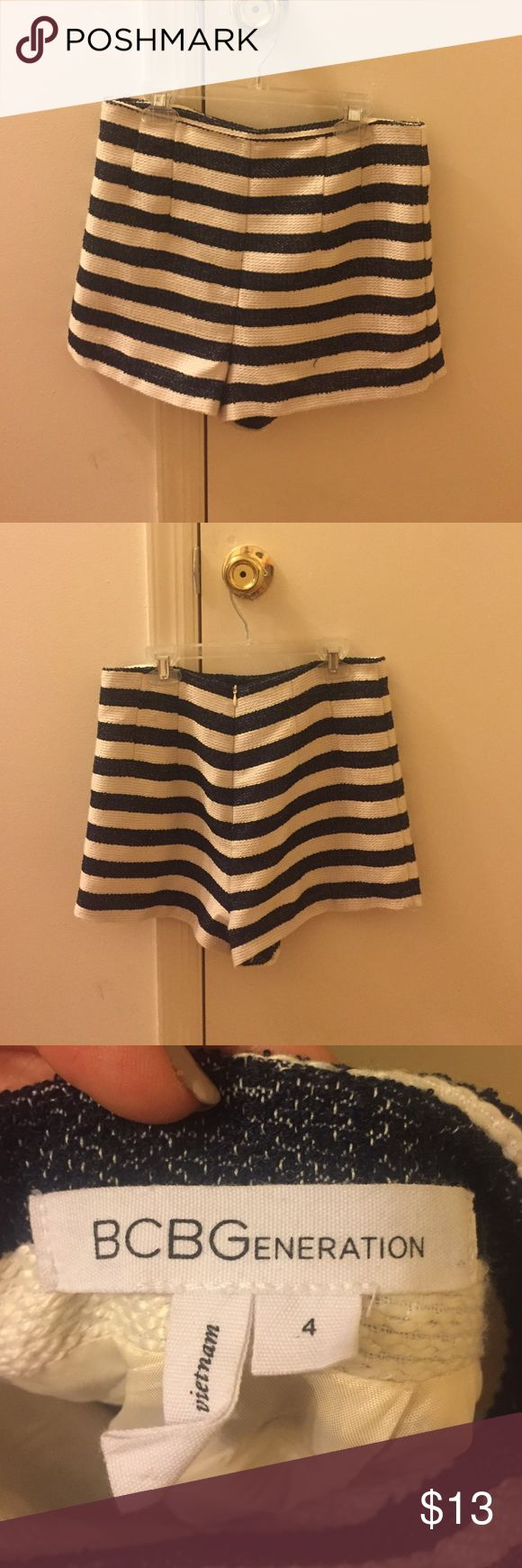 HOLIDAY SALE 💥💥💥 BCBG Nautical Shorts BCBG High Waisted Nautical Shorts BCBGeneration Shorts