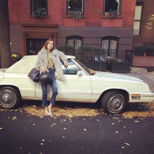 alexachung-it: Alexa rocking the 70s aesthetic via her twitter