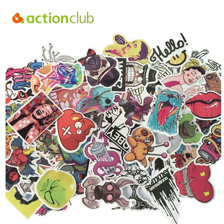 150pcs/set  Mixed Random Stickers Stickers For Skateboard Laptop Luggage Guitar Travel Case sticker Car Kids DIY Toys