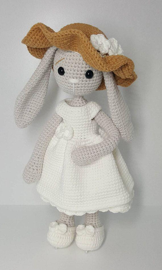 Crochet pattern amigurumi mom and baby bunny | muñecos | Pinterest ...