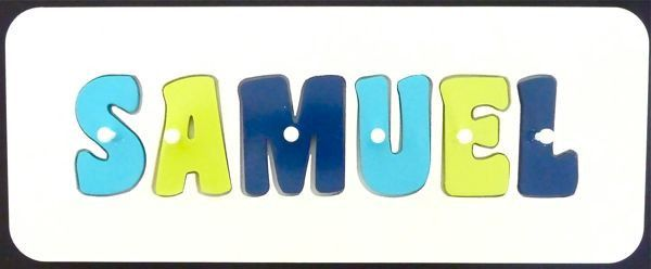 http://www.mikkiandme.com.au/collections/craft-and-sensory-play/products/personalised-name-puzzle-aqua-lime-and-navy