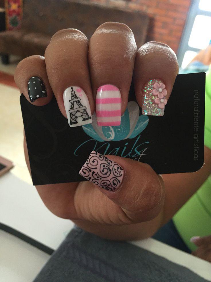 562 best Nail Art Designs I Like images on Pinterest | Fingernail ...