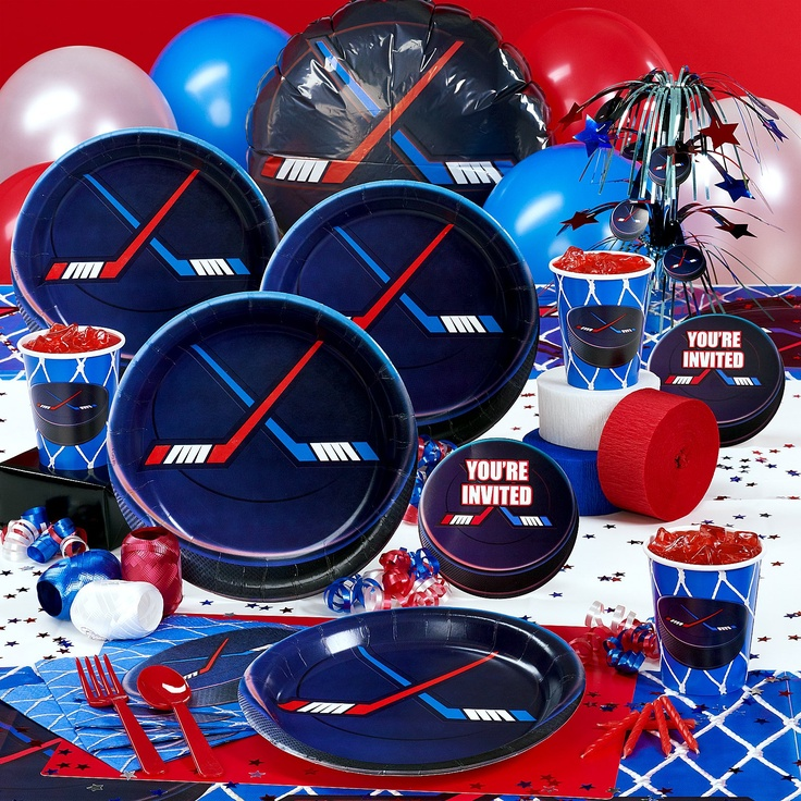 Hockey Birthday Party Supplies