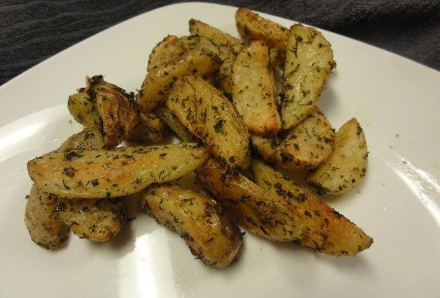 Kriel aardappeltjes met ranch kruiden uit de oven. Super lekker.