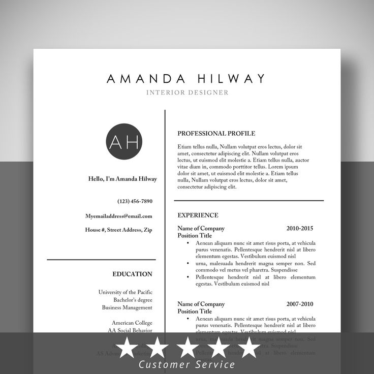 47 best RESUME images on Pinterest Resume templates, Resume - fine dining resume