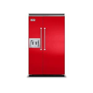 Viking VVCSB5481DRR Professional Series Side-by-Side Refrigerator - Racing Red