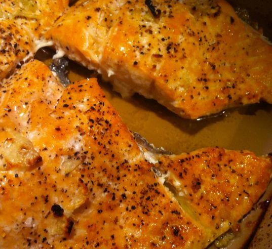 Easy baked salmon that is edible yay salmon easy and for Easy baked fish recipes
