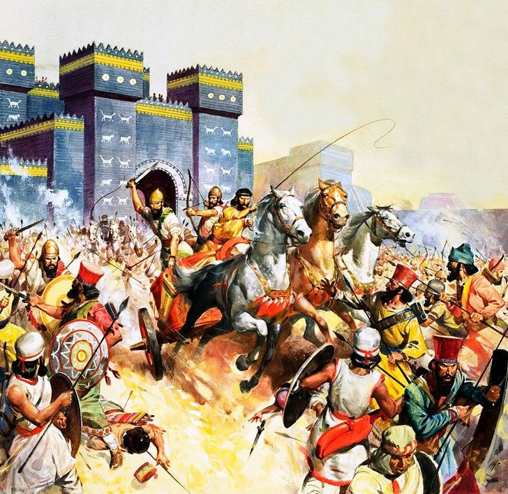 "Clash Of Kings Civilization: ""Persian And Babylonian Forces, Led By Zopyrus Clash"