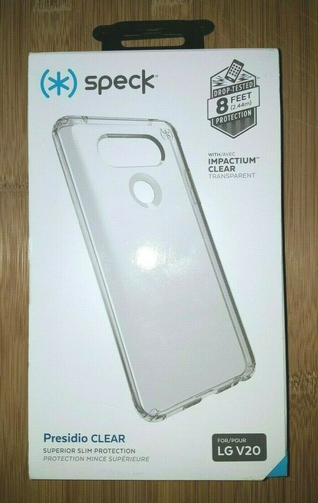hot sale online 8da5c 462ae NEW Speck Presidio Clear Superior Slim Phone Case for LG V20 #Speck ...