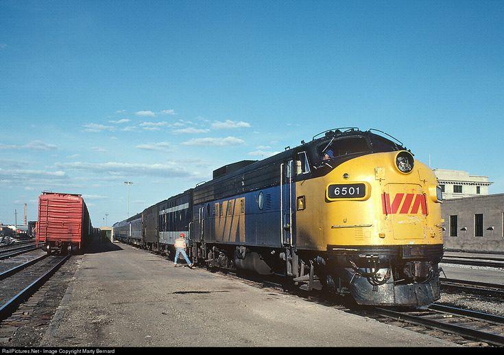 RailPictures.Net Photo: VIA 6501 VIA Rail EMD FP9 at Regina, Saskatchewan, Canada by Marty Bernard