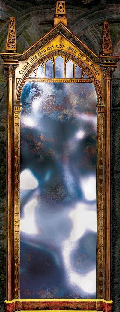 Door Or Wall STICKER Harry Potter Hogwarts Mirror Of Desire Decole Mural  Poster Part 47