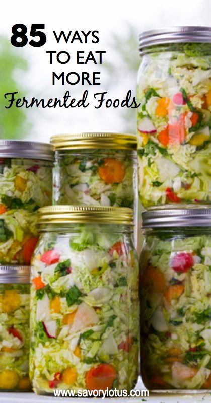 85 Ways to Eat More Fermented Foods - savorylotus.com