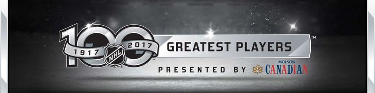 The 100 greatest NHL players.