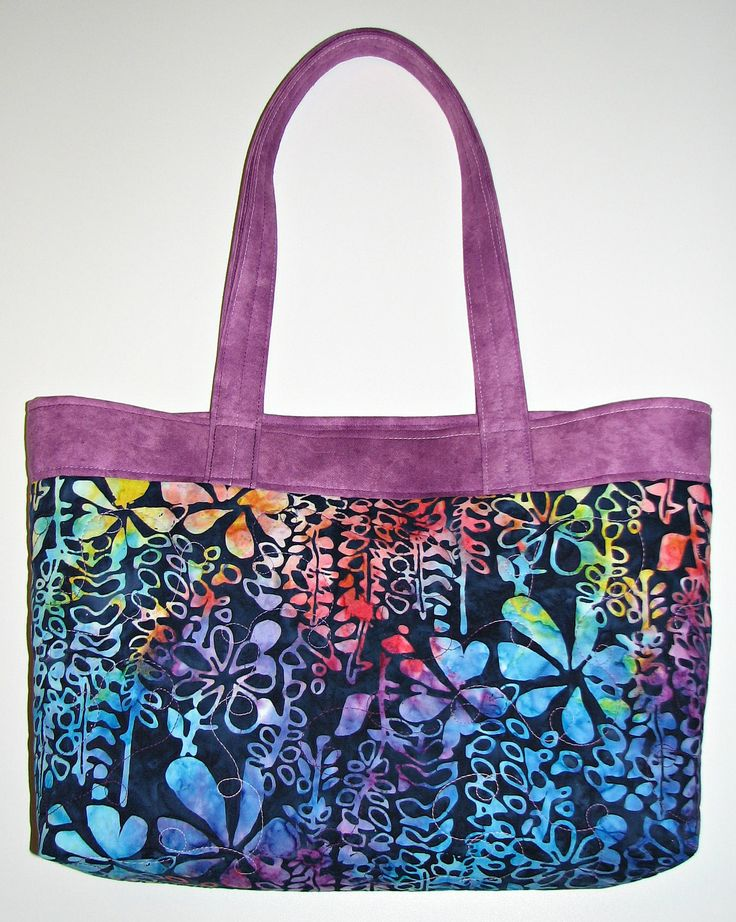 17 Best ideas about Quilted Tote Bags on Pinterest Easy tote bag pattern free, Quilted bag and ...