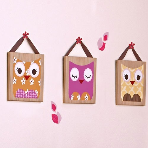 wall art  (why do I like owls so much lately?.....they're sooo cute that's why)