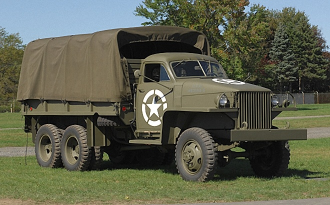 "1945 Studebaker US6 Truck - at the end of WWII, the russian colloquialism for ""truck"" was studebaker!"