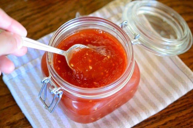 ChupChupChup: Mermelada de tomates con menta fresca