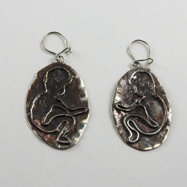 Cenin Küpe (Fetal Earring) - ZFRCKC Jewelry Design - www.zfrckc.com