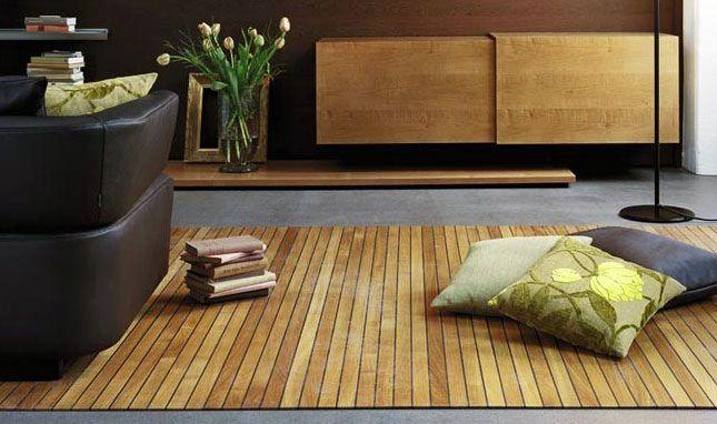 A Hardwood Floor That Rolls Up Like a Rug