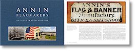 Annin Flagmakers have been doing it since 1847.  They're the oldest and largest flag manufacturer in the United States, making flags for Lincoln's inauguration and funeral procession, the founding of the UN, and the first American ascent of Mount Everest to name a few.
