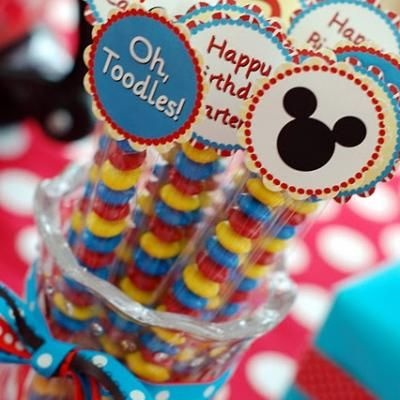 """Mickey Mouse """"Two""""dles Birthday Party {2 Year Old Birthday Party Ideas}}"""