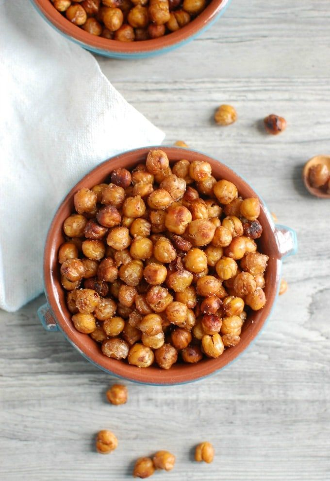Crunchy Roasted Chickpeas – kids love it   – recipes to try – #Chickpeas #Crunch…   – roasted vegetables